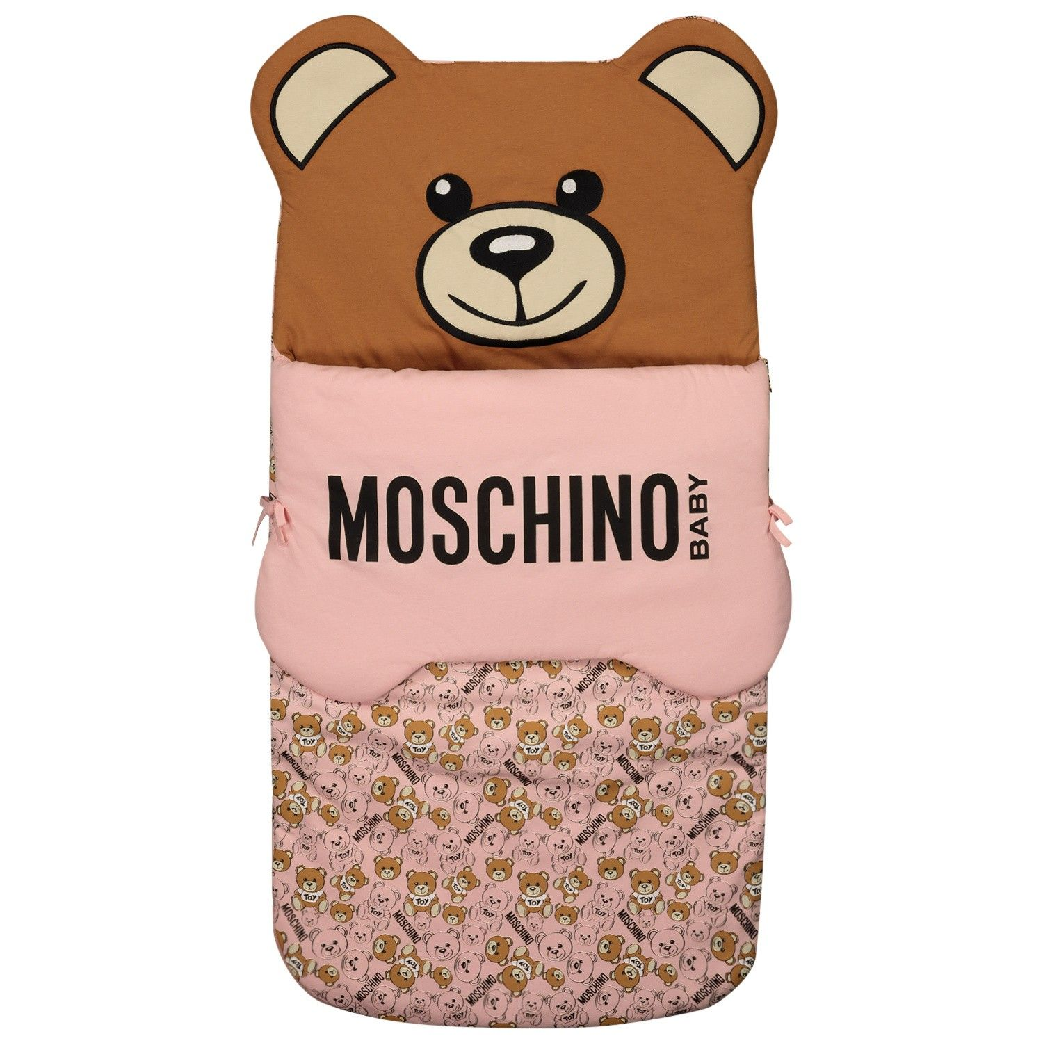 Picture of Moschino MUE00C baby accessory light pink