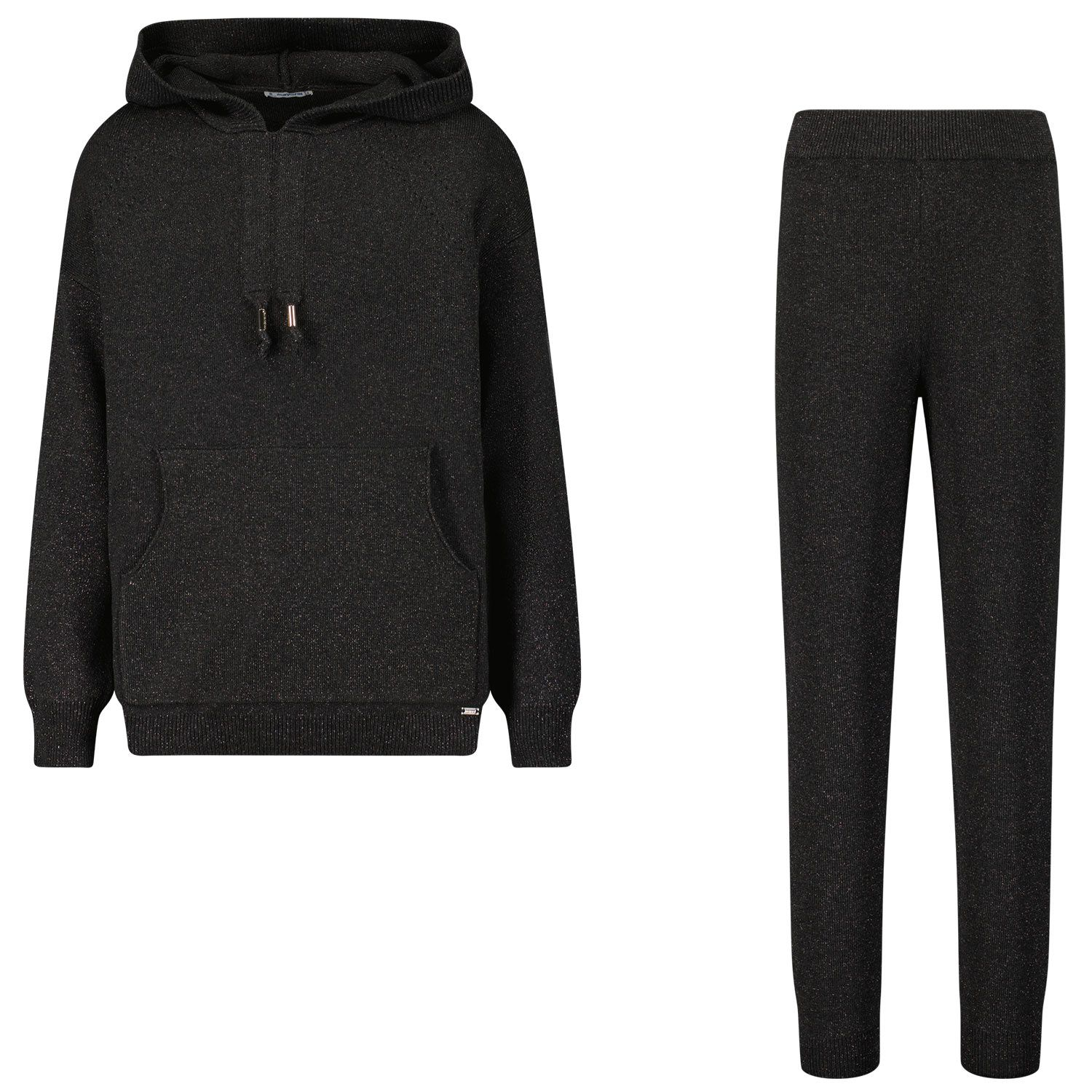 Picture of Mayoral 4837 kids sweatsuit black
