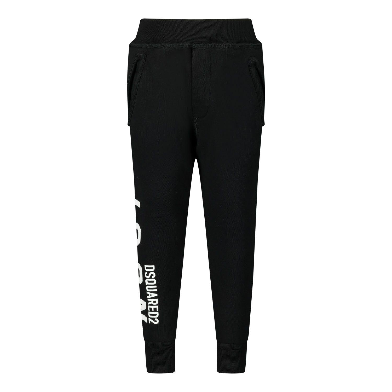 Picture of Dsquared2 DQ04D1 D002Y baby pants black
