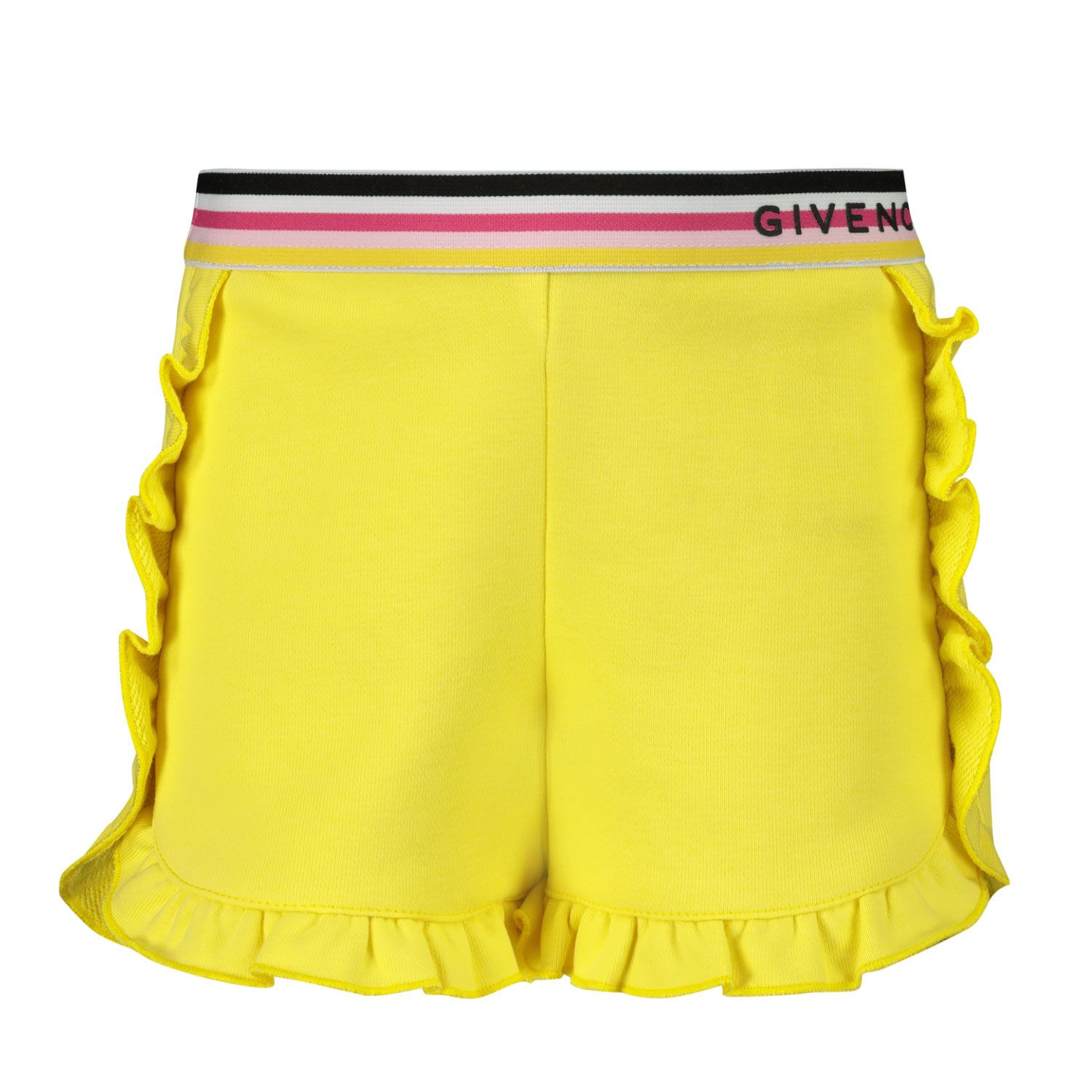 Picture of Givenchy H04101 baby shorts yellow