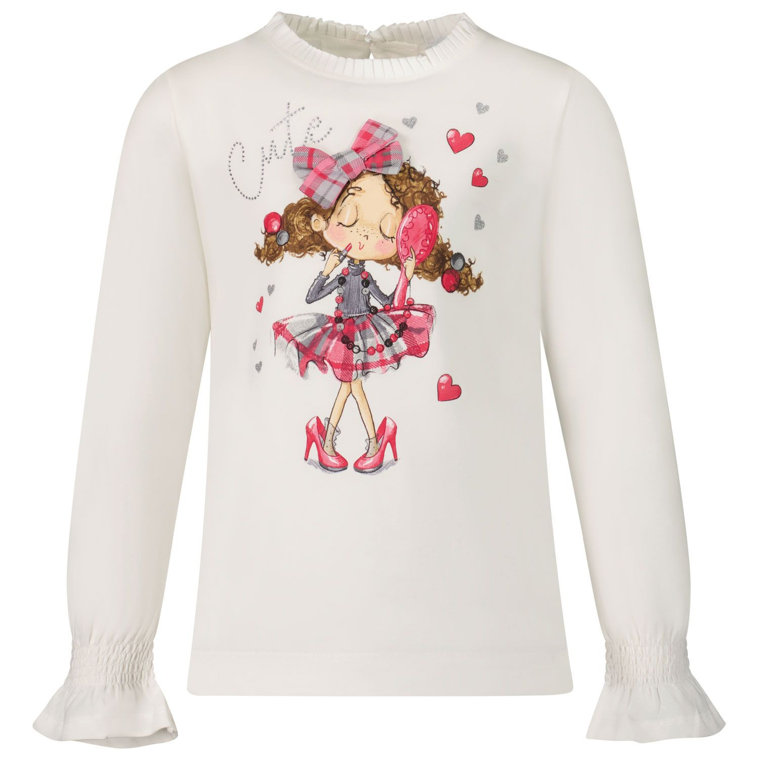 Picture of Mayoral 4006 kids t-shirt fuchsia