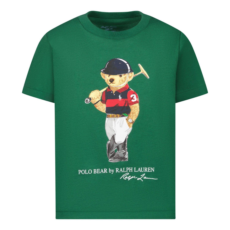 Afbeelding van Ralph Lauren 320838244 baby t-shirt groen