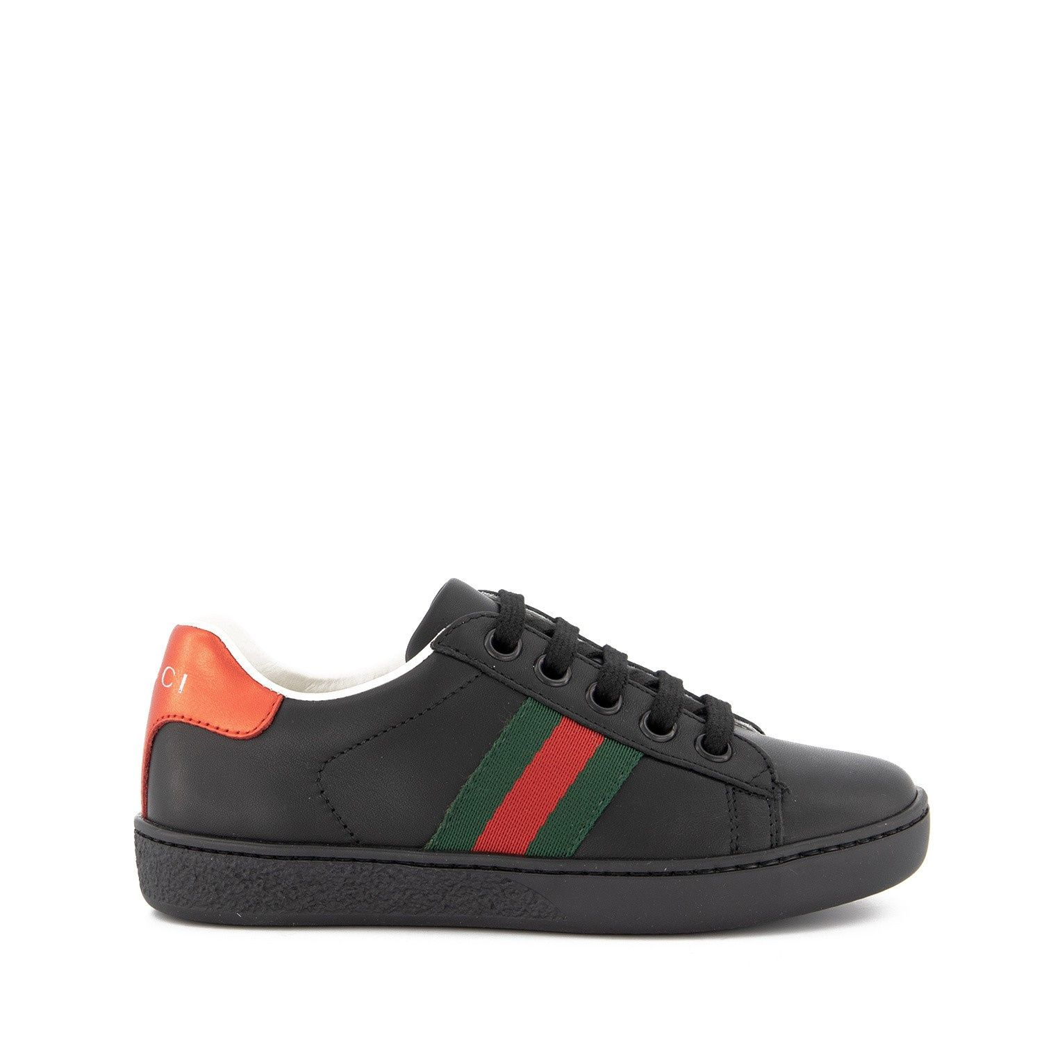 Picture of Gucci 433148 kids sneakers black