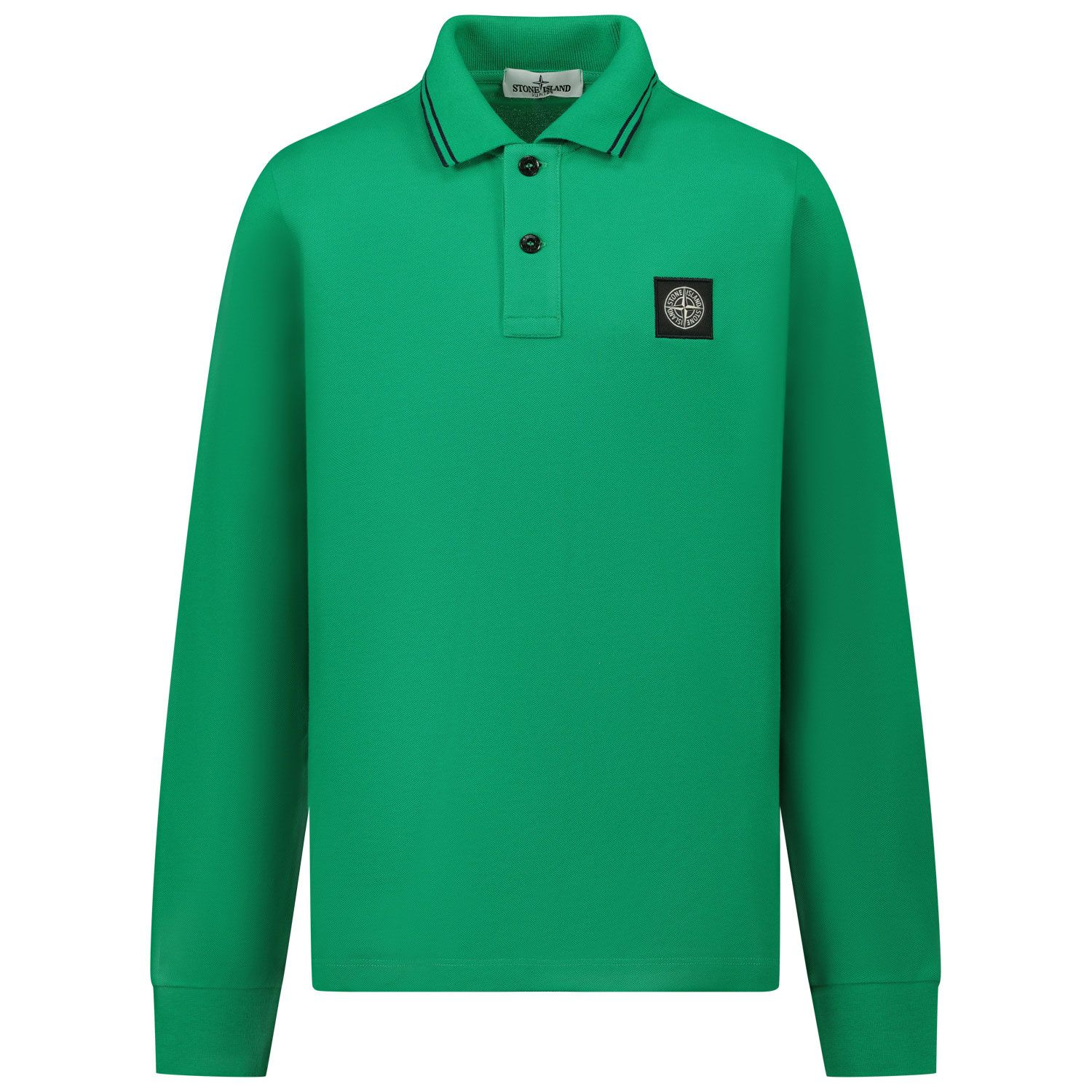 Picture of Stone Island MO731620748 kids polo shirt green