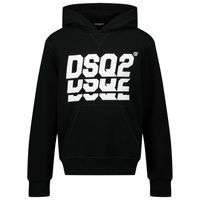 Picture of Dsquared2 DQ0476 kids sweater black