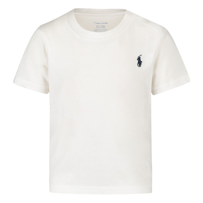 Picture of Ralph Lauren 320674984 baby shirt white