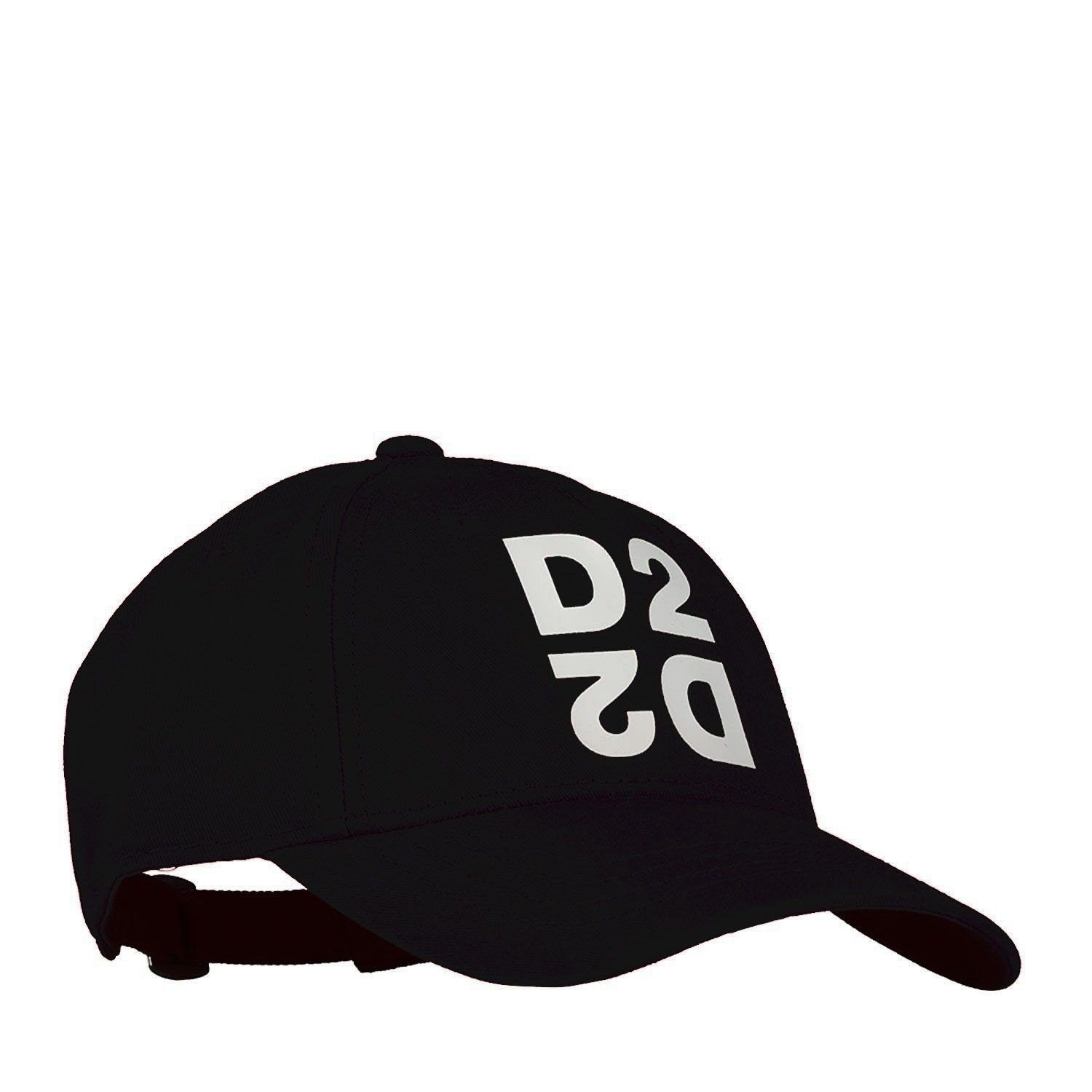 Picture of Dsquared2 DQ0424 baby hat black
