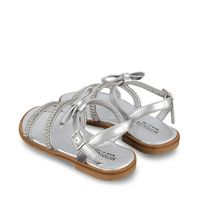 Picture of MonnaLisa 877016 kids sandals silver