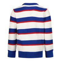 Picture of Tommy Hilfiger KB0KB06382 B baby sweater cobalt blue