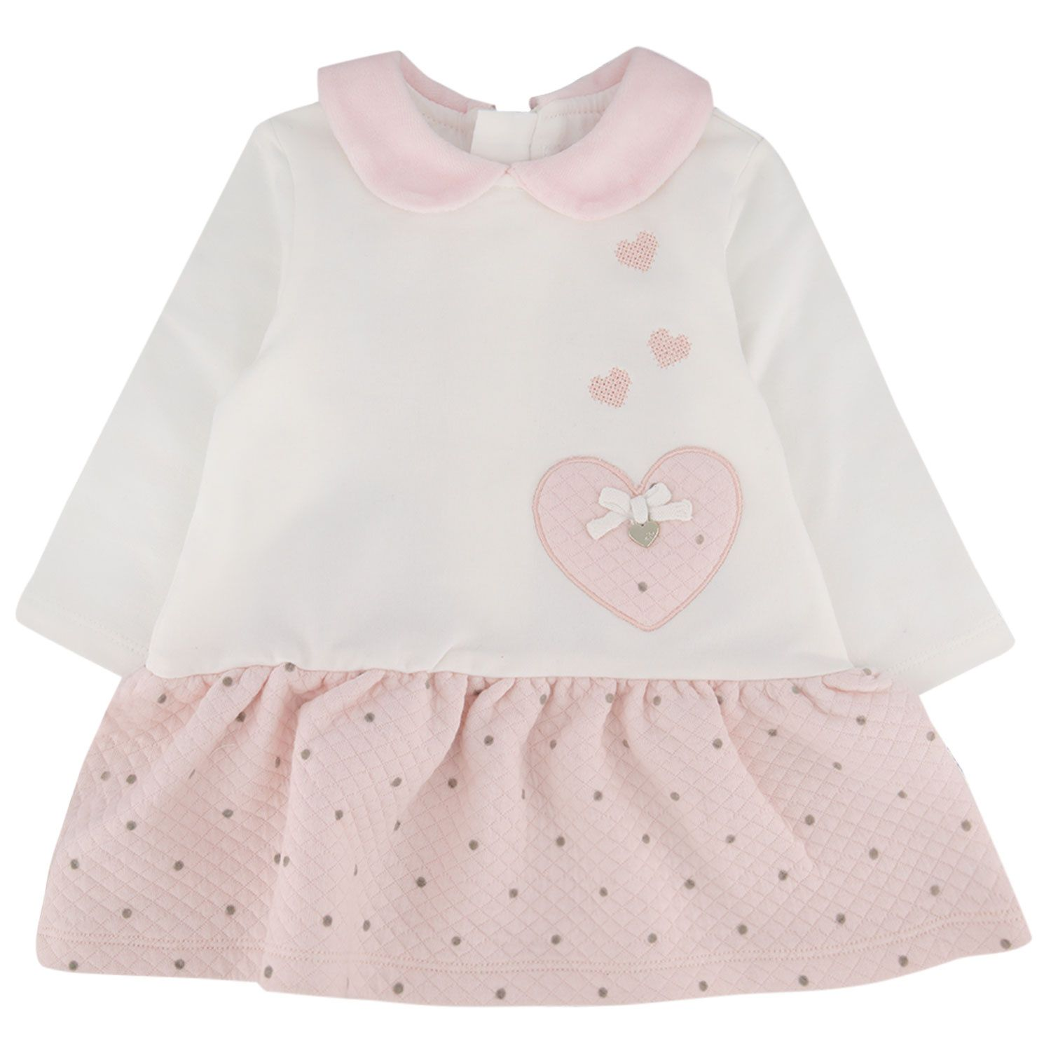Picture of Mayoral 2854 baby dress light pink