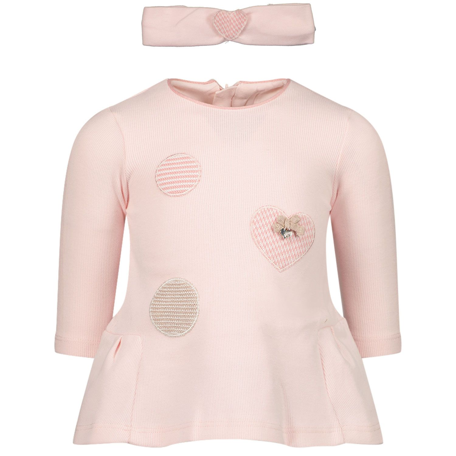 Picture of Mayoral 2802 baby dress light pink