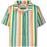 Afbeelding van Jacky Girls JGSS20068 kinder overhemd div