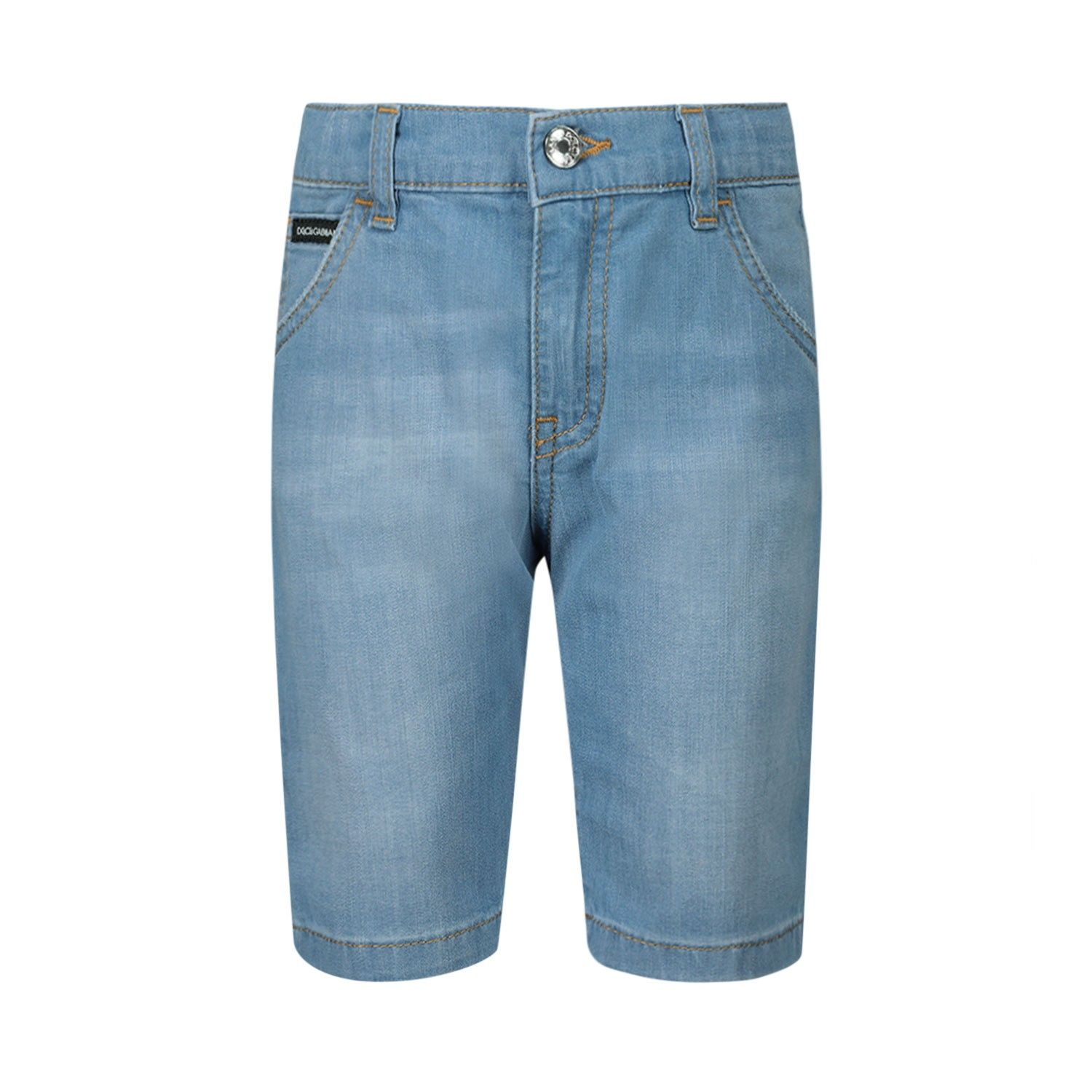 Afbeelding van Dolce & Gabbana L12Q36 / LD879 baby shorts jeans