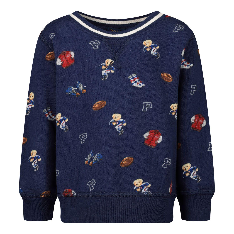 Picture of Ralph Lauren 799051 kids sweater navy