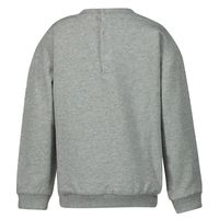 Picture of Moschino MUF02Z baby sweater grey