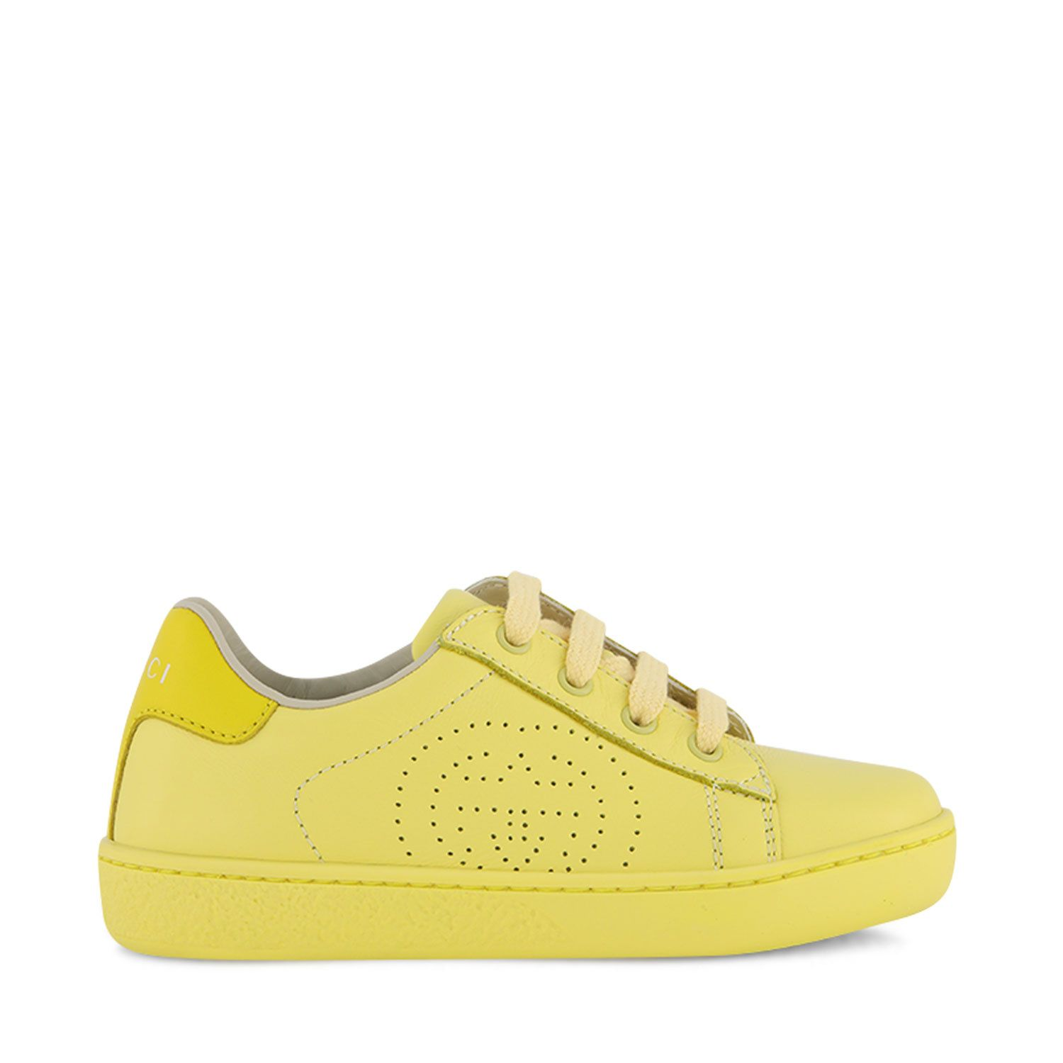 Picture of Gucci 626624 kids sneakers yellow