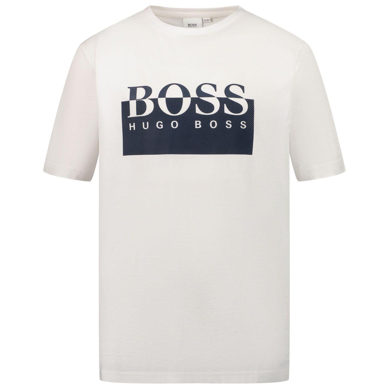 Picture of Boss J25L54 kids t-shirt white
