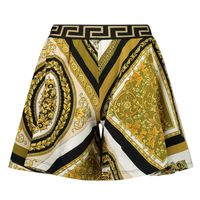Picture of Versace 1000363 1A00265 kids skirt gold