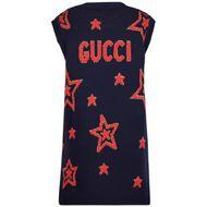 Afbeelding van Gucci 621856 kinder tuniekje navy