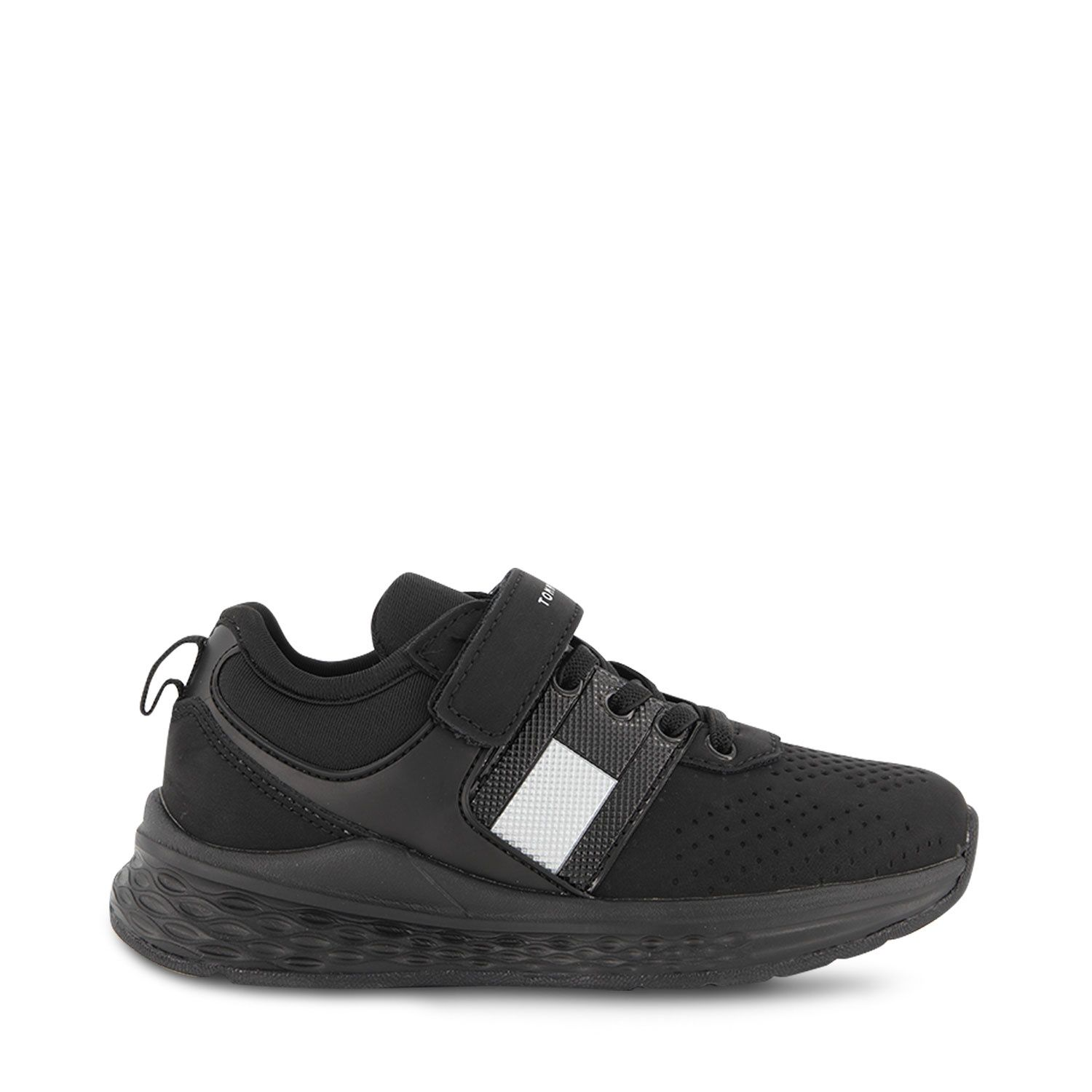 Picture of Tommy Hilfiger 32080 kids sneakers black