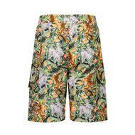 Afbeelding van Kenzo K24022 kinder shorts army