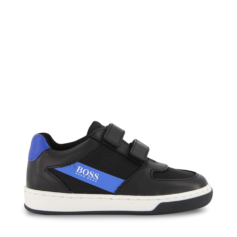 Picture of Boss J09160 kids sneakers black