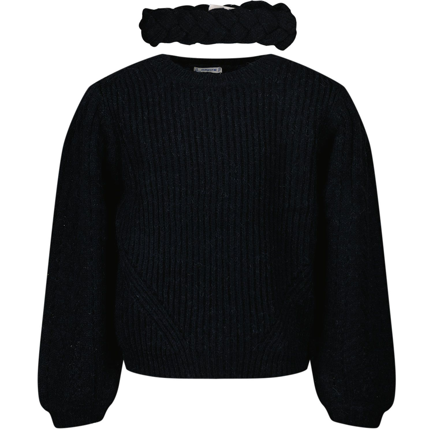 Picture of Mayoral 4373 kids sweater navy