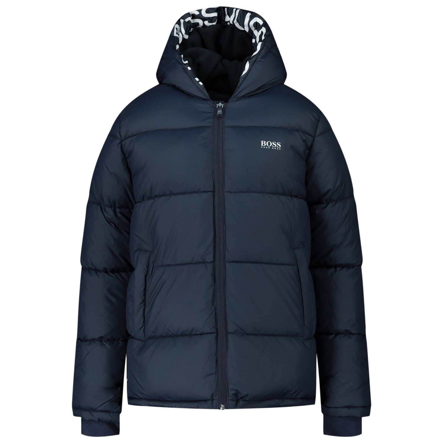 Picture of Boss J26417 kids jacket navy