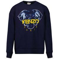 Picture of Kenzo K25168 kids sweater dark blue