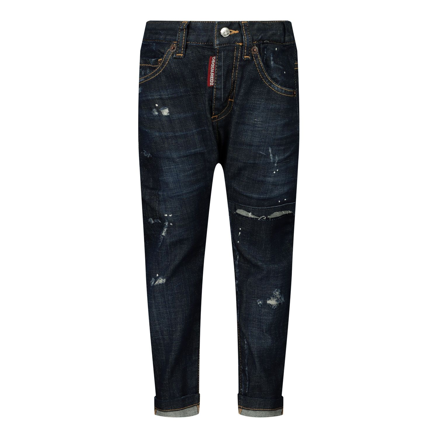 Picture of Dsquared2 DQ01TC D005K baby pants jeans