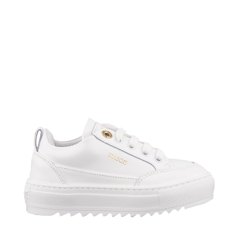 Afbeelding van Mason Garments B20NOS1A kindersneakers wit