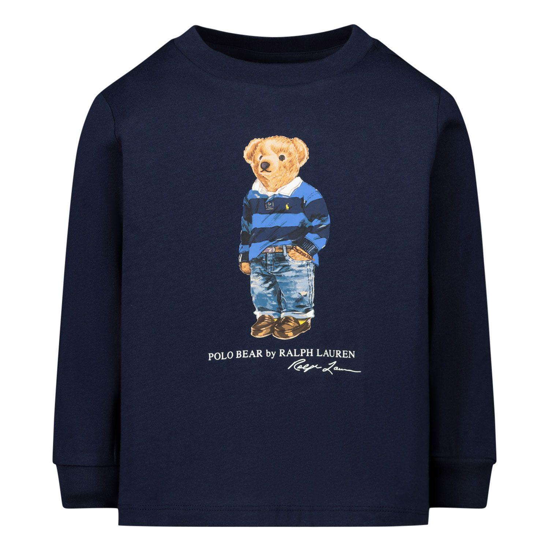 Afbeelding van Ralph Lauren 320805681 baby t-shirt navy