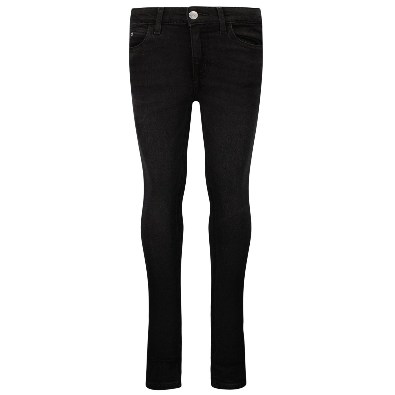 Picture of Calvin Klein IG0IG00996 kids jeans dark gray