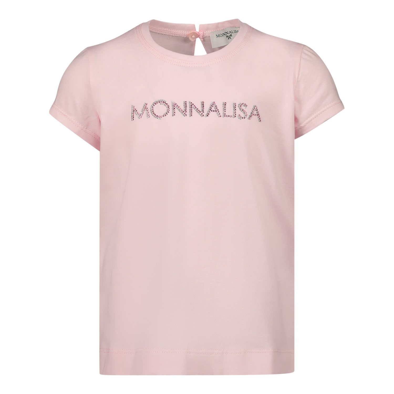Afbeelding van MonnaLisa 377600A1 baby t-shirt roze