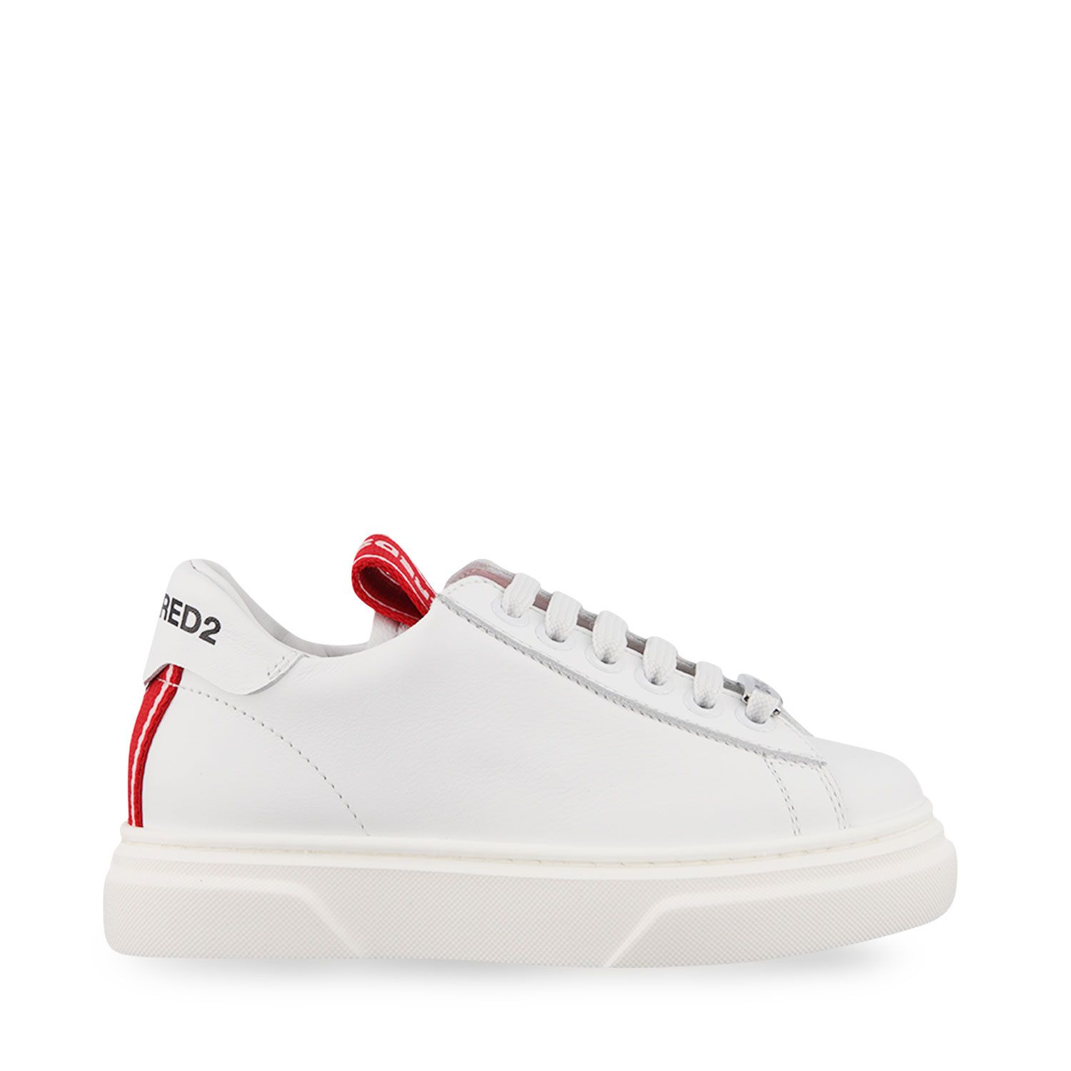 Picture of Dsquared2 67076 kids sneakers white