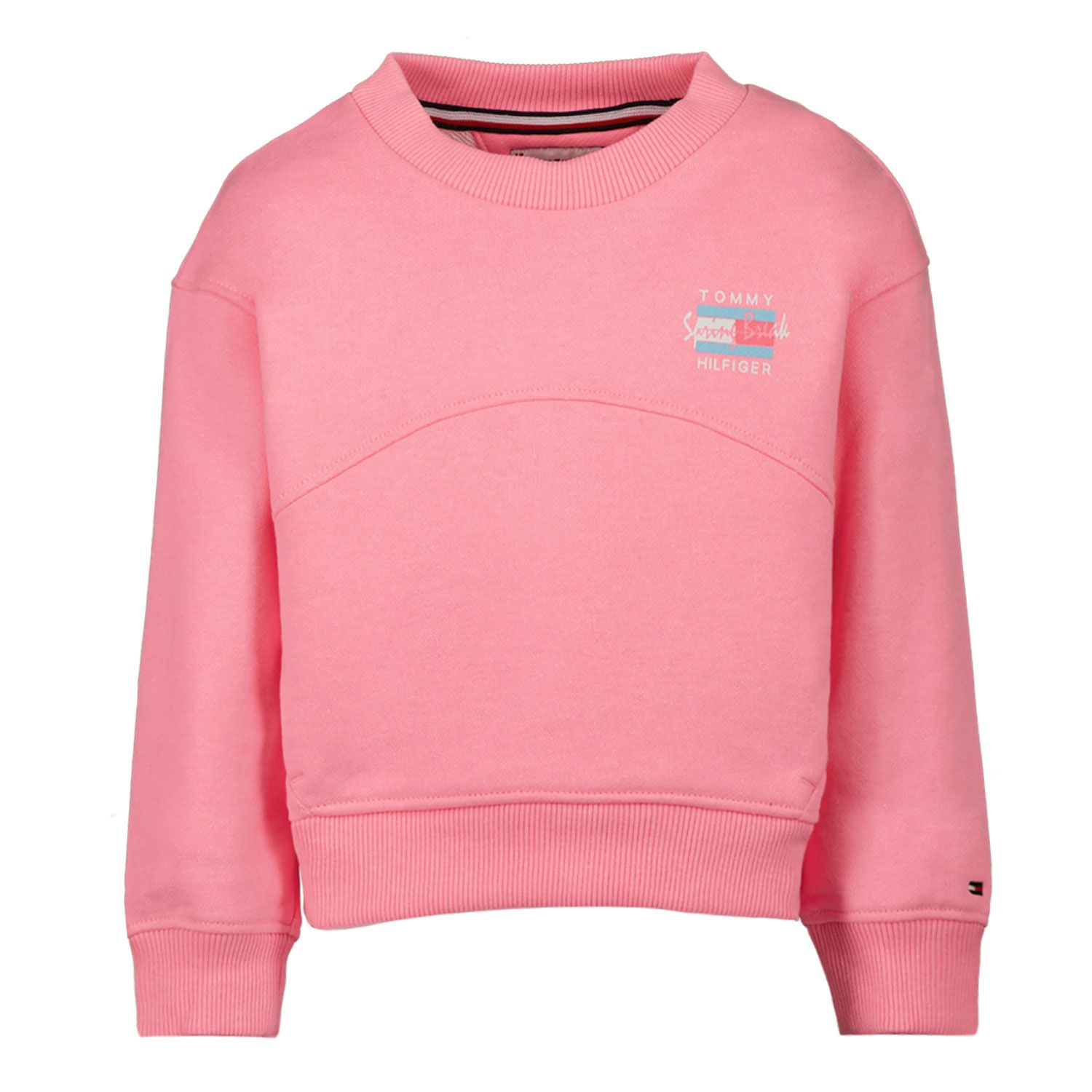 Picture of Tommy Hilfiger KG0KG05893 B baby sweater fluoro pink
