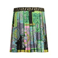 Picture of Versace 1000240 1A00297 kids skirt turquoise