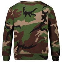 Picture of Ralph Lauren 836537 kids sweater army