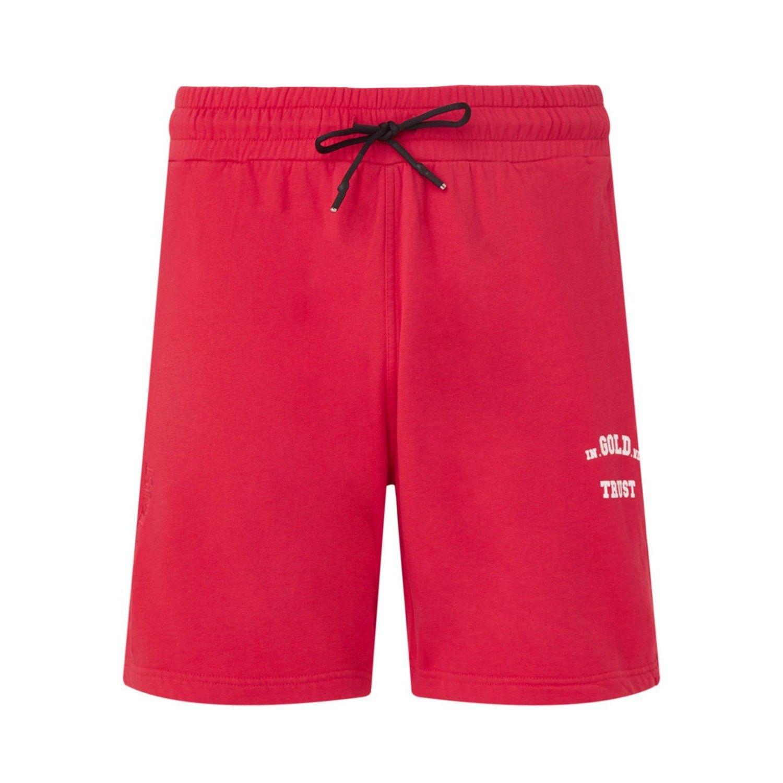 Afbeelding van In Gold We Trust KIDS SHORT BASIC kinder shorts rood