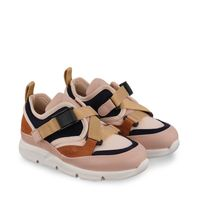 Picture of Chloé C19116 kids sneakers navy
