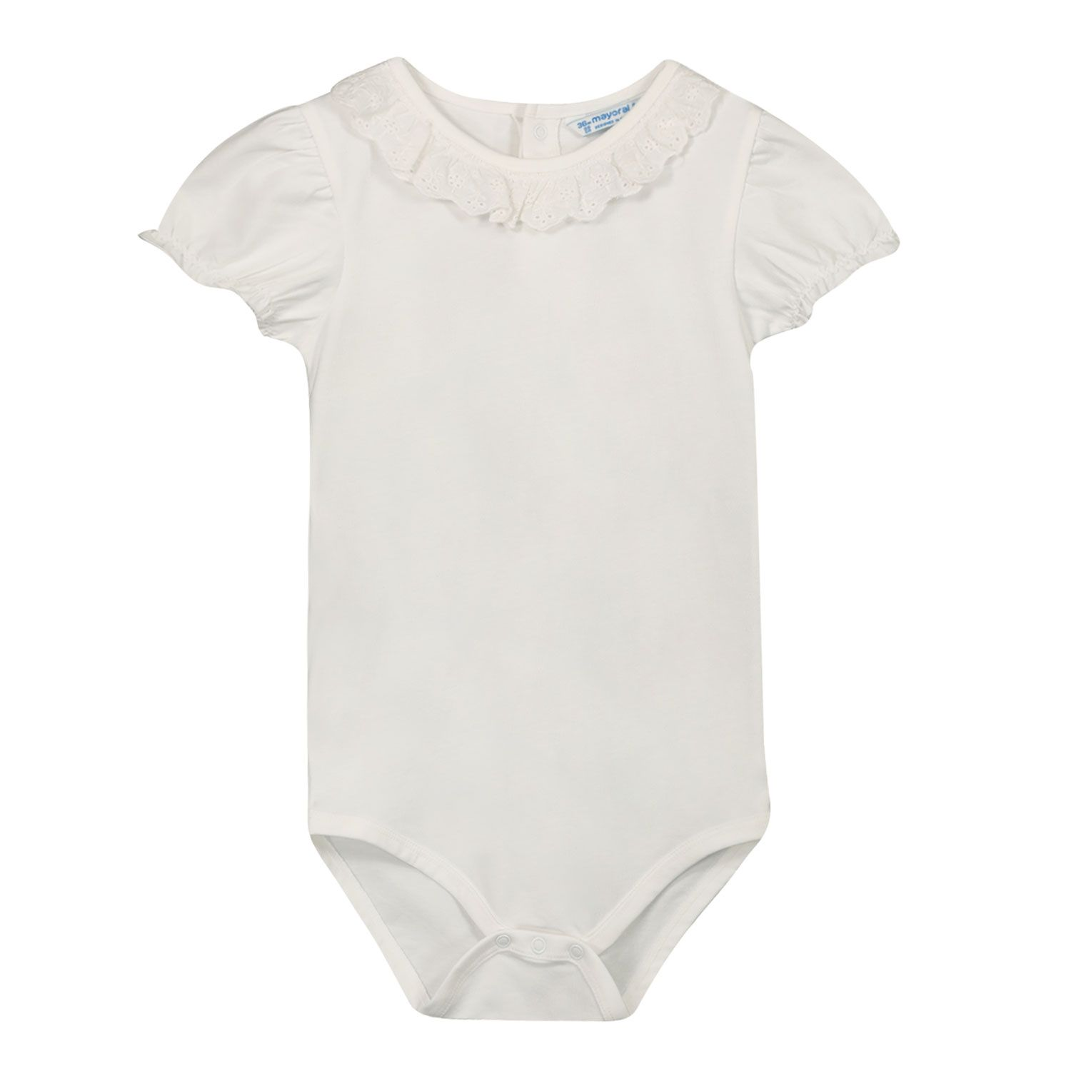 Picture of Mayoral 1703 rompersuit white