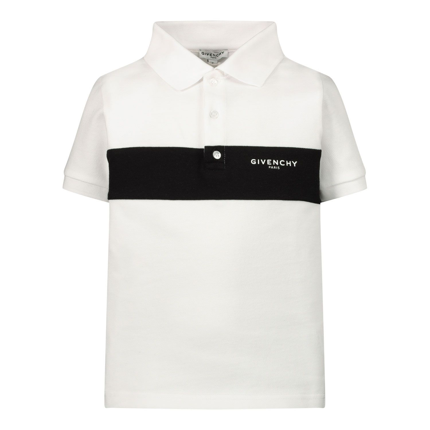 Afbeelding van Givenchy H05152 baby polo wit