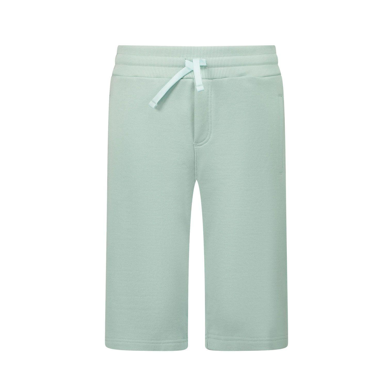 Picture of Dolce & Gabbana L4JQD4 G7VGL kids shorts mint