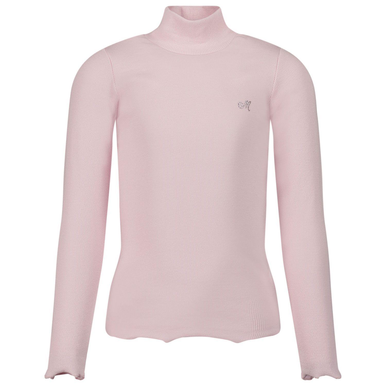 Picture of MonnaLisa 178LUC kids t-shirt light pink