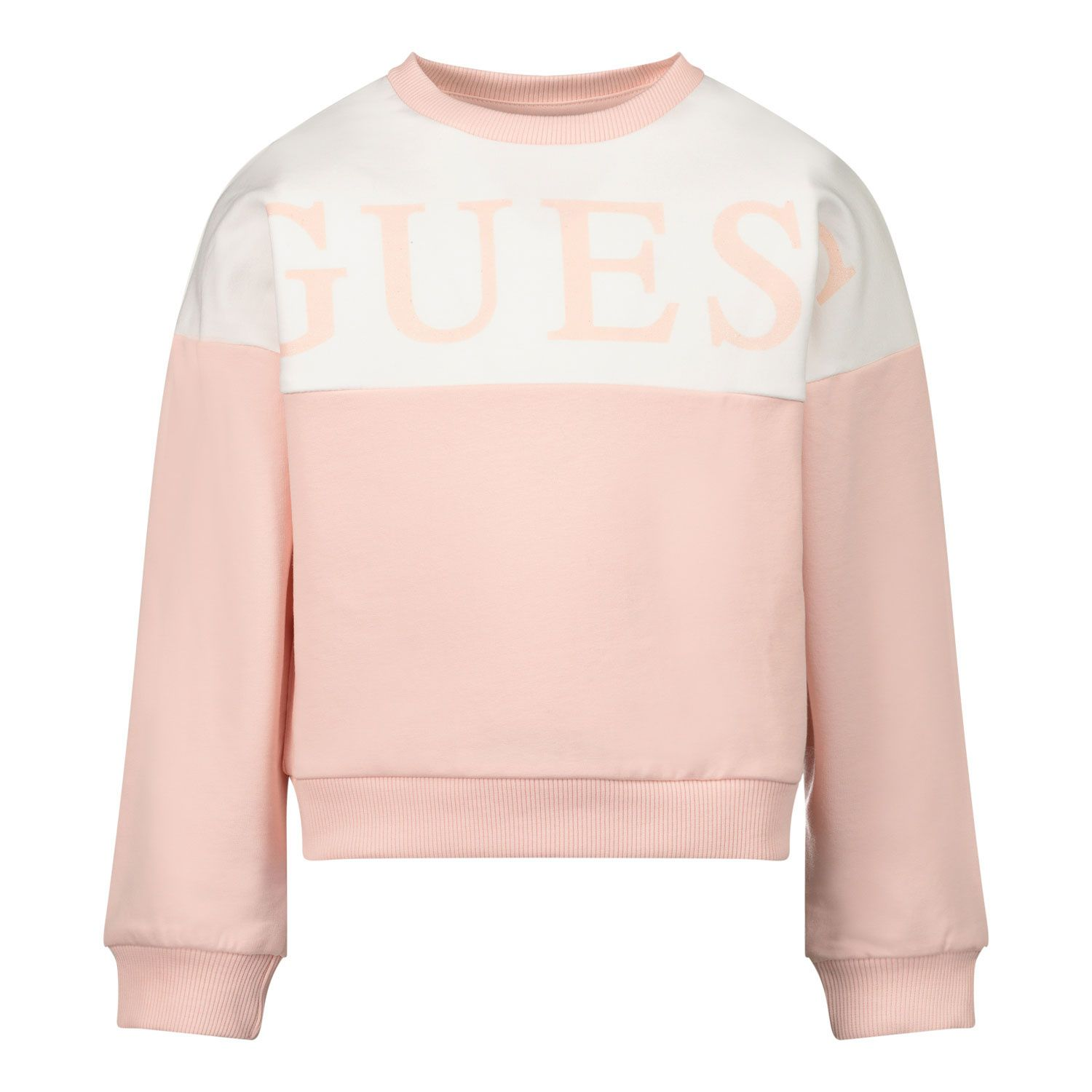 Picture of Guess K0YQ00/KA6V0 kids sweater light pink