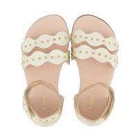 Picture of Chloé C09023 kids sandals gold