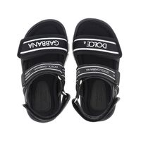 Picture of Dolce & Gabbana DL0066 AO260 kids sandals black