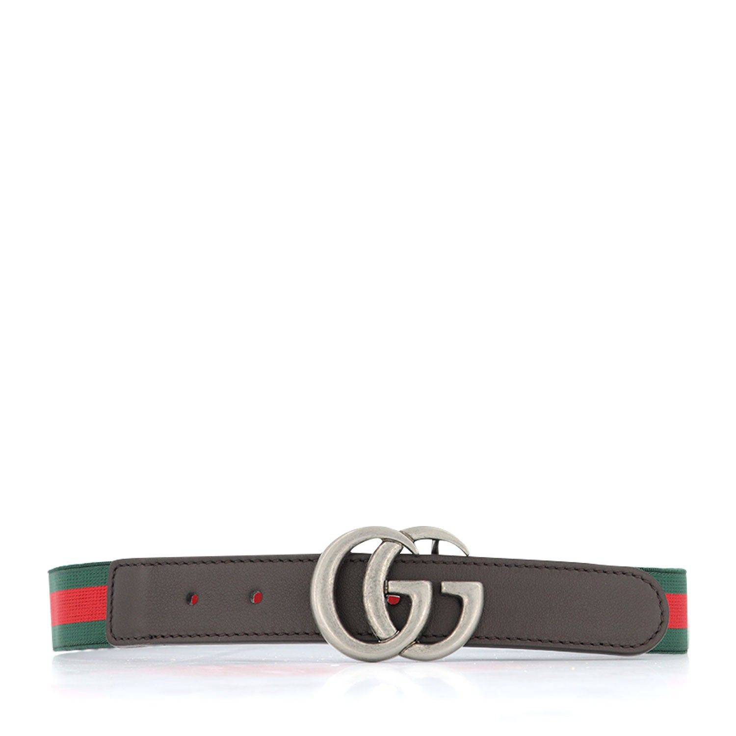 Picture of Gucci 432707 HAENN kids belt green