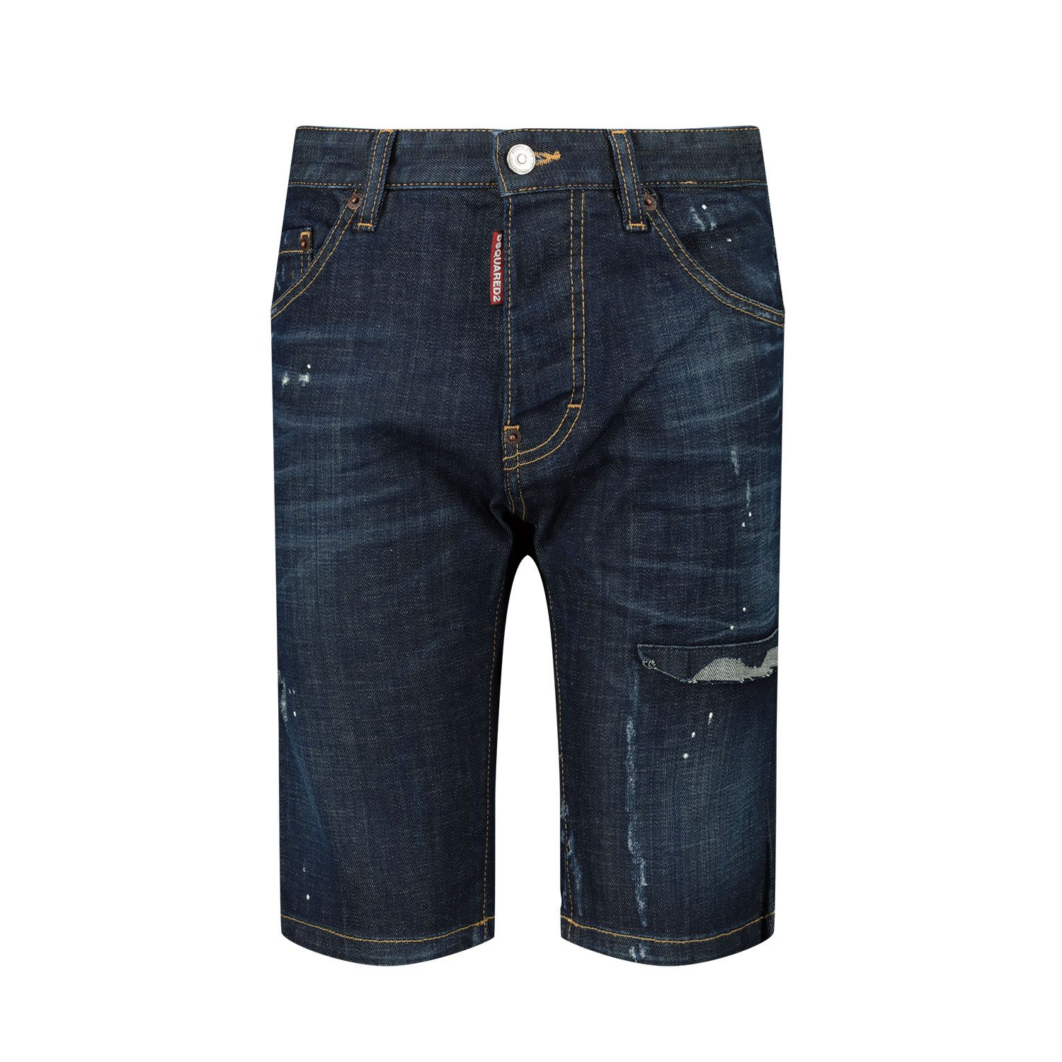 Picture of Dsquared2 DQ024D D005K kids shorts jeans