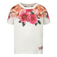 Afbeelding van Dolce & Gabbana L2JTAZ G7WTM baby t-shirt roze